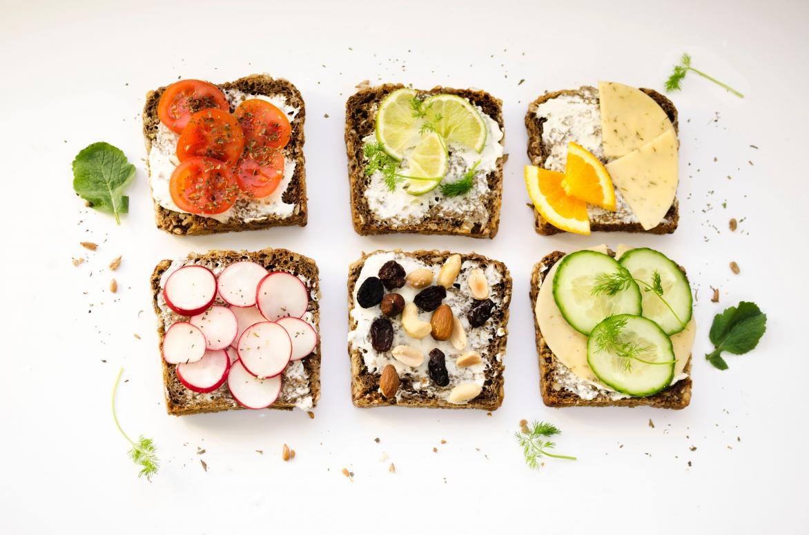 lunch met veel eiwitten